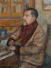 """MANGE José (1866-1935) """"Autoportrait de l'artiste"""" Provence Félibre Toulon Paris"""