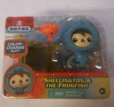 Octonauts Shellington with Rescue Sled and The Frogfish New