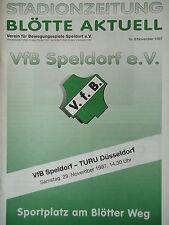Programm 1997/98 VfB Speldorf - TURU Düsseldorf