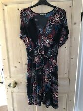 Biba Patterened Dress - Size 10 - In Good Condition