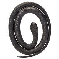 117cm Black Mamba Rubber Snake