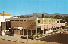 BOZEMAN, MT  Montana   SECURITY BANK BUILDING  Street View  VW BUG   Postcard