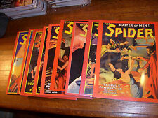 PULP ADVENTURE PRESS: SPIDER PULP REPRINTS: #12 36 37 38 44 45 46 47 85