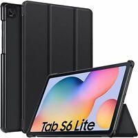 For Samsung Galaxy Tab S6 Lite Case Smart Premium Book Stand Cover P615 / P610