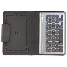 PureGear Folio Case w/ Backlit Bluetooth Keyboard for 7-8 inch Devices - Black