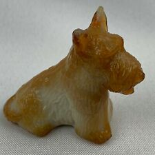 Boyd Art Glass Duke the Scottie Dog - Wheat