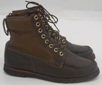 Timberland Mens earthkeepers 6' Canvas & Leather Almond Toe, Brown, Size 11W
