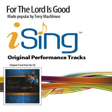 Terry MacAlmon - For the Lord is Good - Accompaniment Track