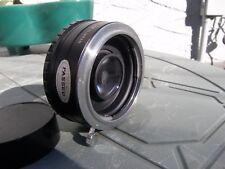 Vintage Konica Mount Auto 2X Tele Converter Lens VGC