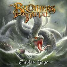 BROTHERS OF METAL - EMBLAS SAGA NEW CD