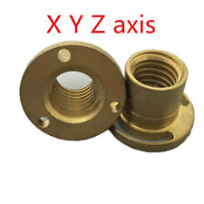 Bridgeport Milling Machine X Y Z Axis Screw Copper Brass Sleeve CNC Mill Tool