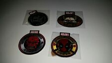 Marvel Collectors Corps Lot of 4 Patches New Red Skull, Punisher, Rocket, Dead