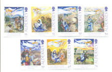 Alderney Christmas Paintings mnh 2012