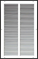 Steel Return Air Grille HVAC Duct Cover Grill White - Many Size Options