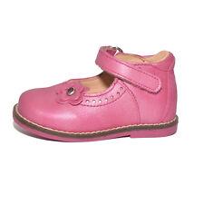 Babybotte Filles silvane ROSE FUCHSIA Chaussures Cuir UK 3 EU 19 US 3.5 RRP £ 50.00