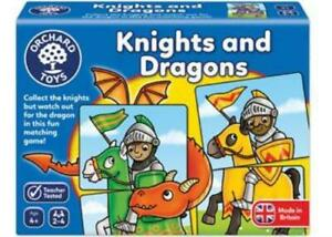 Knights And Dragons Matching Game Orchard Toys OC096