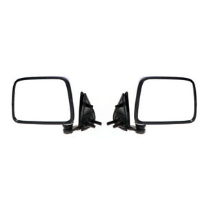 Fit Nissan Datsun Navara D21 Pathfinder Pickup Truck Chrome Door Mirror Pair New