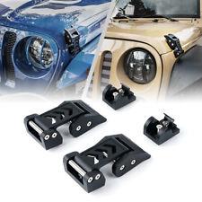 Xprite Hood Latch Locking Catch Buckle for Jeep Wrangler JK JL Unlimited Sahara