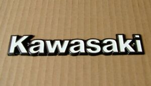 KAWASAKI BADGE KZ SERIES See List Chrome Brand New & Metal Emblem KT08