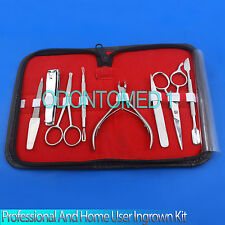 Professional and Home user Ingrown Toenail Kit Hand Tools Set,8 Pieces,ODM-630