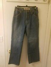 Men's Steve & Barry's Worker Pant 05604 Loose Fit Blue Jeans 30 x30  New