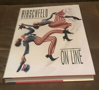 Hirschfeld on Line by Al Hirschfeld SIGNED INSCRIPTION (Hardcover)