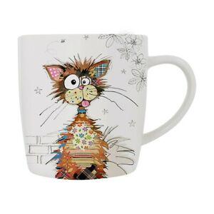 Bug Art Ziggy The Cat China Mug Boxed Dining Decor BG0403 FREE UK Postage