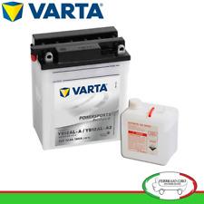 BATTERIA MOTO 12Ah VARTA 12V 160A di spunto Powersports STANDARD 512013012 YB12A