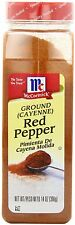 McCormick Ground Cayenne Red Pepper 14 oz - Seasoning Flavor Cooking Spice Spicy