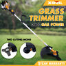 X-BULL Grass Trimmer 28cc Gas 2-Cycle Powered Straight Shaft Weeder String Eater