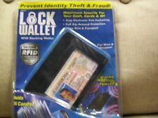 Wallet, RFID Lock Wallet,  Security Wallet,  SECURE RFID BLOCKING