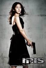 IRIS: THE MOVIE Movie POSTER 11x17 Korean C Byung-hun Lee Tae-hee Kim So-yeon
