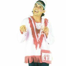 Indianerin Erwachsenenkostüm Squaw Indianerfrau Uramerikanerin Western Gr. 54&58