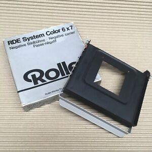 Rollei's RDE System Enlarger 6x6 Medium Format Negative Carrier Holder Mask