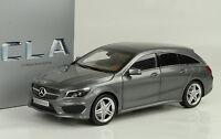 2015 Mercedes-Benz CLA class Shooting Brake mountain grey 1:18 Norev Dealer