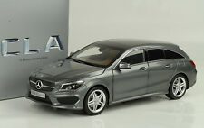 2015 MERCEDES-BENZ CLA Classe Station wagon. Mountain gris 1:18 NOREV DEALER