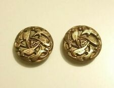 Antique Gold Fronted Buttons