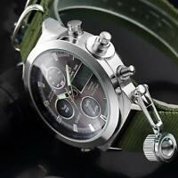 Montre-bracelet-homme-acier inoxydable-Chronographe-watch-montre-mode-luxe-bijou