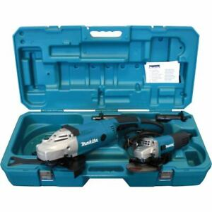 Makita Winkelschleifer-Set DK0052G, 125 + 230 mm GA9020R + 9558NBR im Koffer