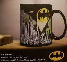 Batman DC Color Changing Coffee Mug Cup Loot Crate Exclusive April 2017 NEW Zak!