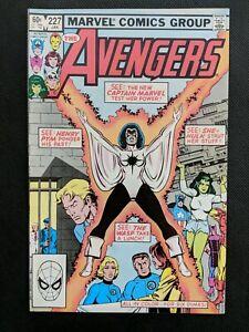 Avengers #227   2nd app Monica Rambeau   Becomes 1st Female Black Avenger   NM