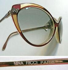 Nina Ricci Paris 122 occhiali da sole vintage sunglasses anni '80 NOS
