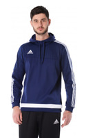 adidas Men's Tiro 15 Soccer Hoodie - Navy