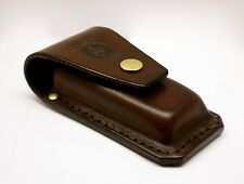 Brown leather pouch for leatherman multitool SURGE 300 handmade by Deadskin AU
