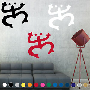 Puerto Rico Rican Taino Coqui Decal Sticker Symbol Sign Wall Room House Decor