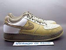 Nike Air Force 1 Low Premium '07 Tweed Bronzed Olive White Light Stone sz 9.5