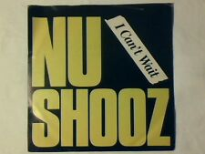"NU SHOOZ I can't wait 7"" ITALY"
