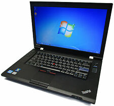 "Lenovo ThinkPad L520 15.6"" 2.5GHz Core i5-2520M 320GB 8GB Bluetooth Windows 7"