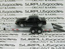 Greenlight 1:64 Loose Track Day 1989 Ford Mustang Lx 5.0 Drag w/Car Trailer #4