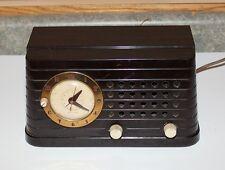 Telecgron Bakelite Clock Radio - Model SH69